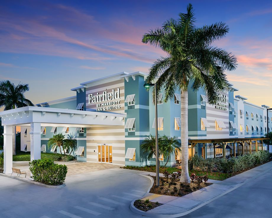Fairfield Inn & Suites Marathon Florida Keys Entrance