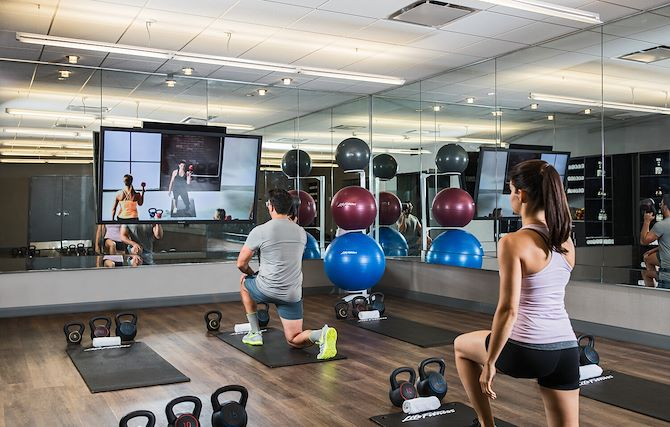 Fitness Lab Studio at the Chicago Marriott Downtown Magnificent Mile