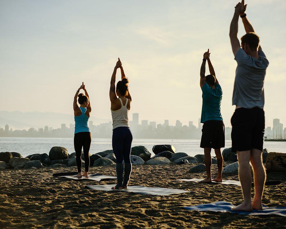 Spanish Banks Beach Yoga