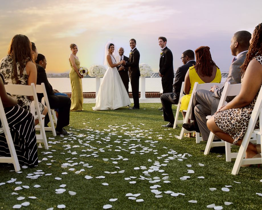Wedding Reception on Gaylord National Event Lawn