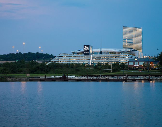MGM National Harbor river view