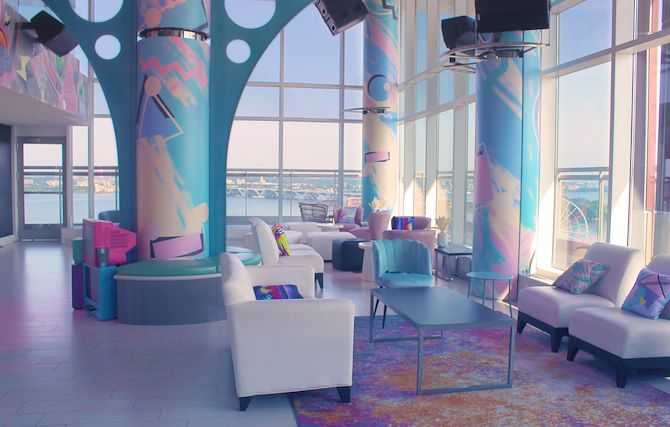 Replay at Pose - an 80's pop-up bar at Gaylord National in National Harbor, MD
