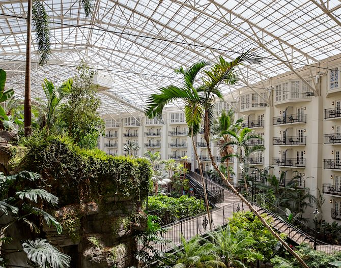 Garden Conservatory Atrium at Gaylord Opryland