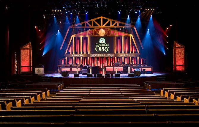 Grand Ole Opry Stage and seats