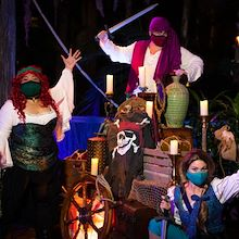 Pirates with Swords at Buccaneer Bash at Gaylord Orpyland