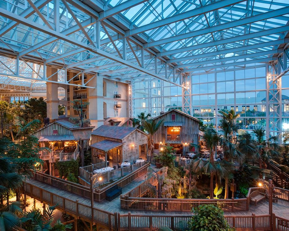 Fort at Old Hickory Exterior in atrium at Gaylord Palms