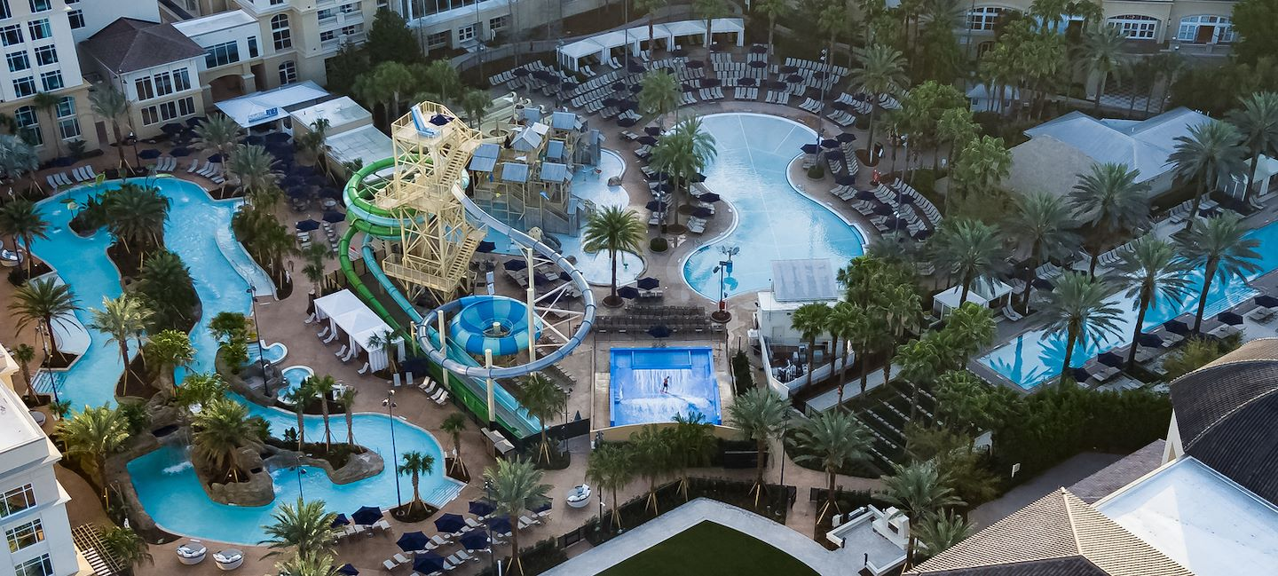 Cypress Springs Water Park featuring Crystal Rapids Lazy River