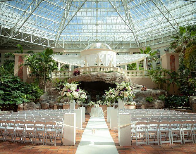 St. Augustine Atrium, Wedding - Gaylord Palms