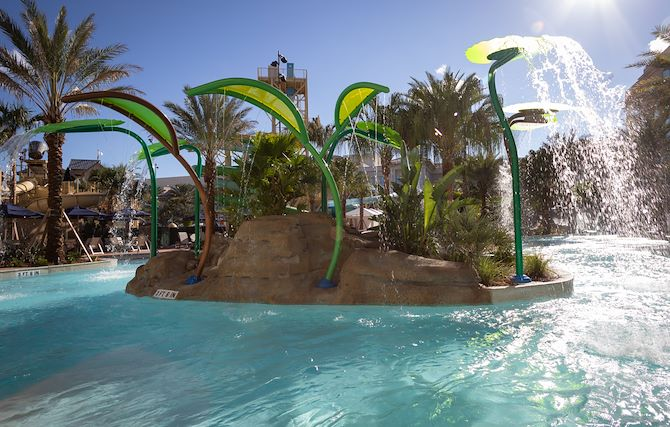 Crystal Rapids Lazy River at Gaylord Palms