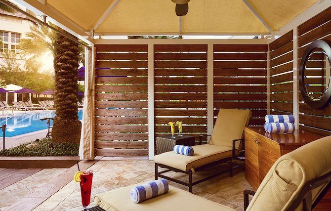 Luxury Cabanas at Cypress Springs at Gaylord Palms