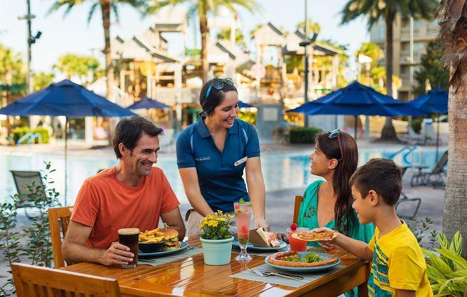 Sandbar Pool Bar at Gaylord Palms - Family Dining