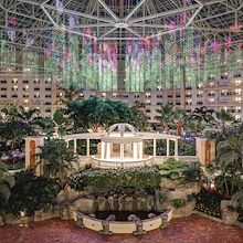Atrium Light Show at Gaylord Palms resort