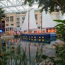 Moor Restaurant - Sailboat in Key West Atrium at Gaylord Palms resort