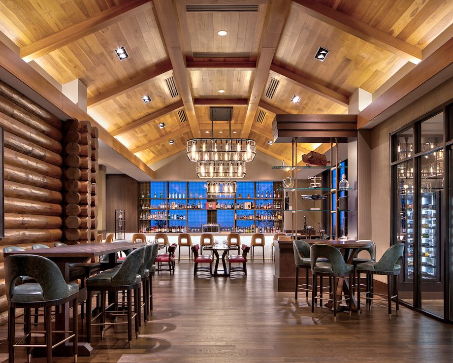 Old Hickory Steakhouse Bar at Gaylord Rockies Resort in Aurora, CO