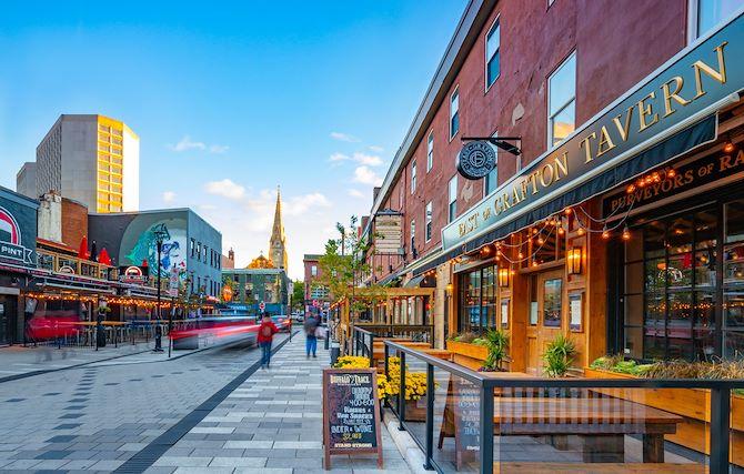 Argyle Street Downtown Halifax