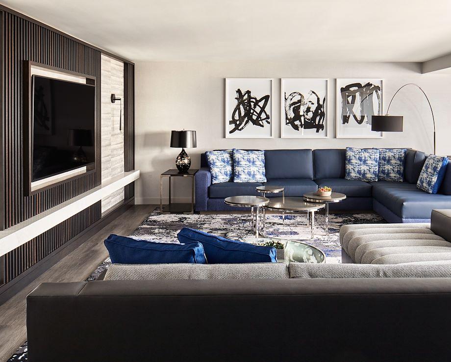 Bi-level Suite - Living Room