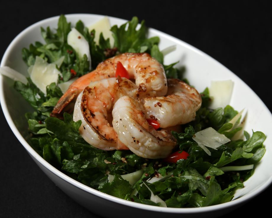 Image of a shrimp salad