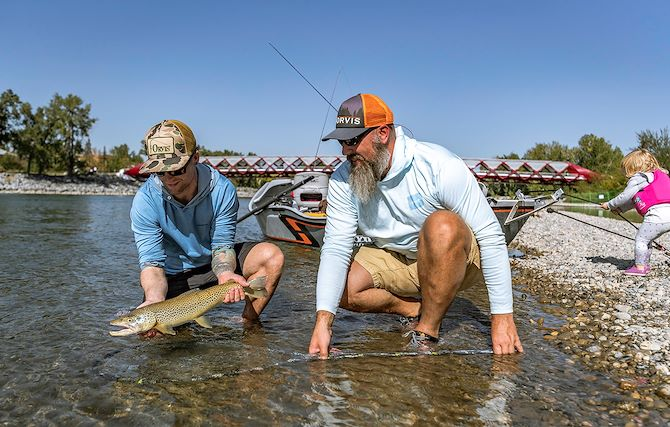 Fly Fishing Bow River Outfitters