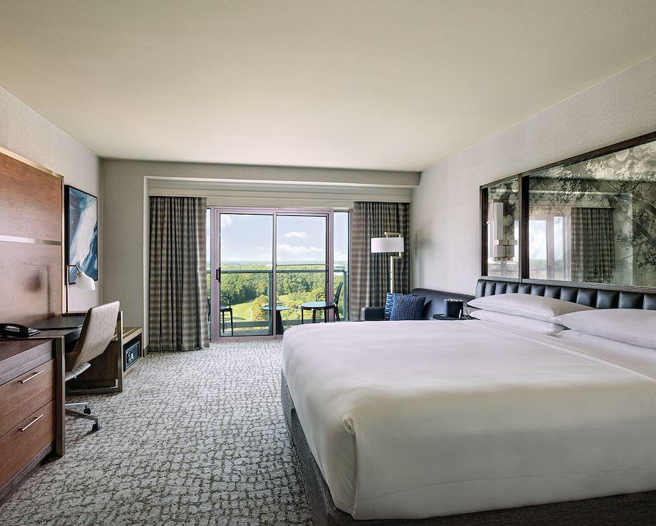 King Bedroom with Balcony