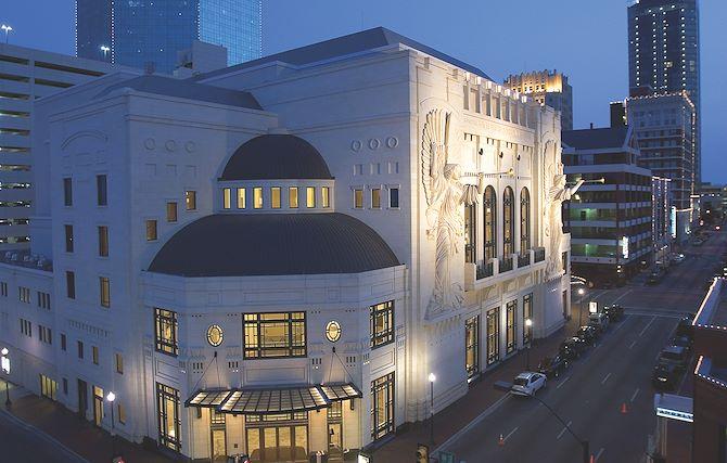 Bass Performance Hall near The Worthington Renaissance Fort Worth Hotel
