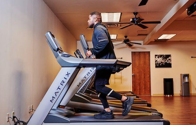 Fitness Center at The Worthington Renaissance Fort Worth Hotel