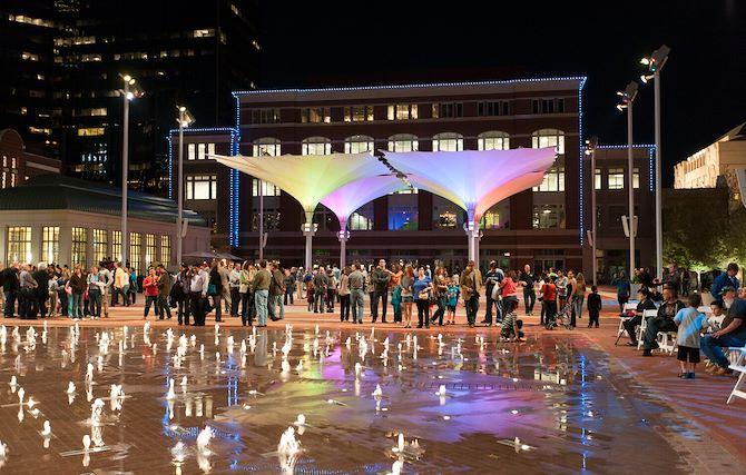 Sundance Square near The Worthington Renaissance Fort Worth Hotel