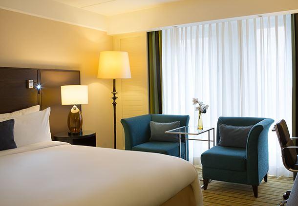 Club Guest Room Sleeping Area