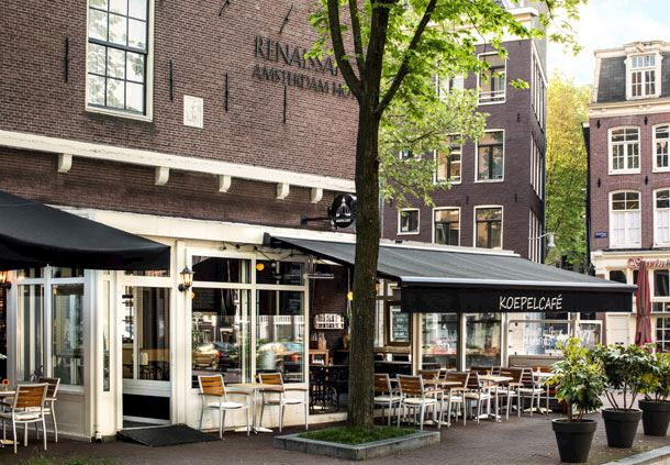 Koepelcafé - Outdoor Seating