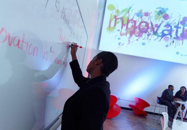Innovation Lab - Dry Erase Board