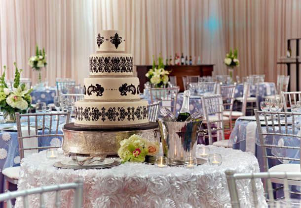 Magnolia Ballroom Wedding Cake