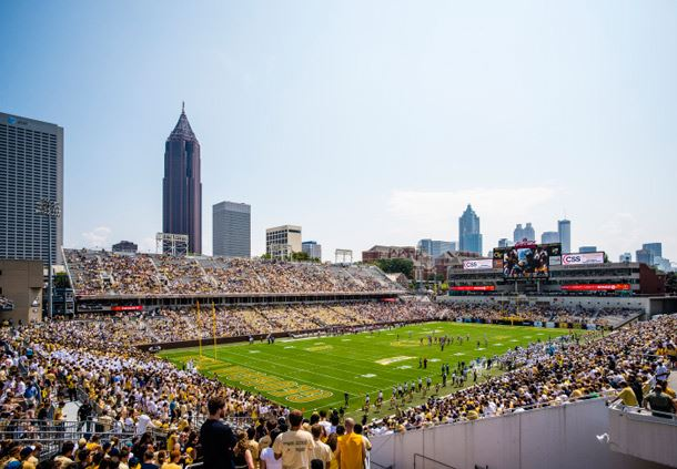 Georgia Tech's Bobby Dodd Stadium