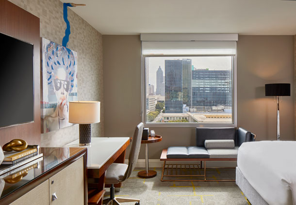 Queen/Queen Deluxe Guest Room - City View