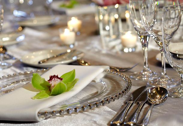 Renaissance Atlanta Midtown Table Setting