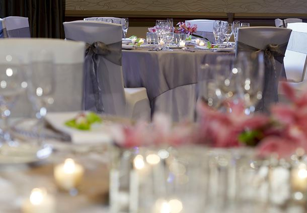 Renaissance Atlanta Midtown Hotel Wedding Reception