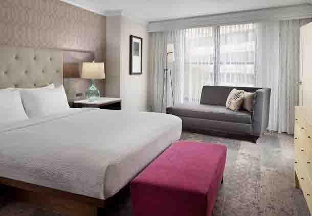 Presidential Suite Sleeping Area