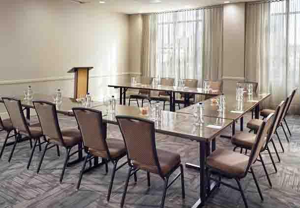 Decatur Meeting Room - Classroom Setup