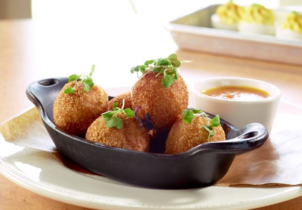 Commons - Country Ham Cheese Grit Fritters