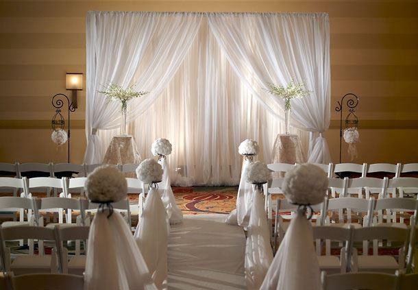 Stone Mountain Ballroom - Wedding Ceremony