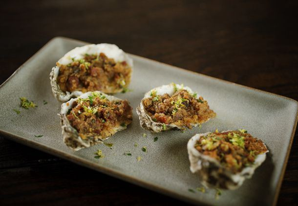 Sear - Baked Oysters
