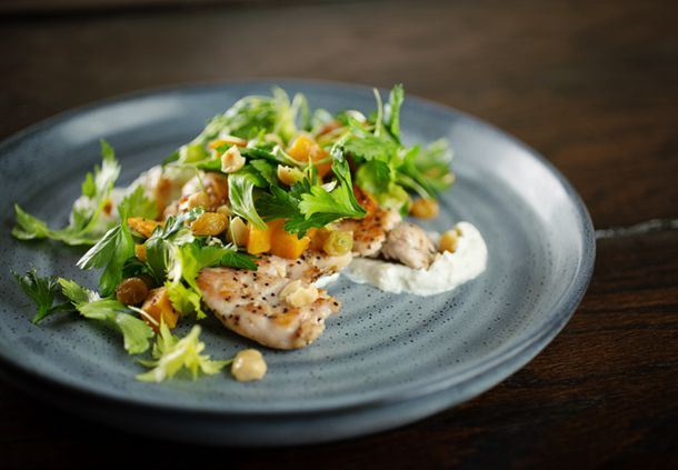 Sear - Grilled Joyce Farms Chicken Paillard