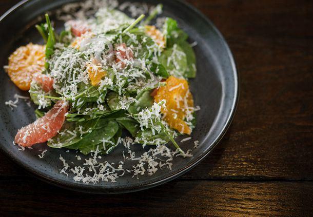 Sear - Citrus Spinach Salad