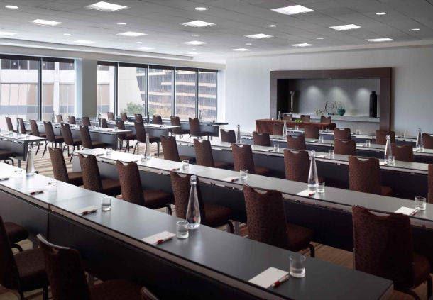Atrium Level 602 - Classroom Setup