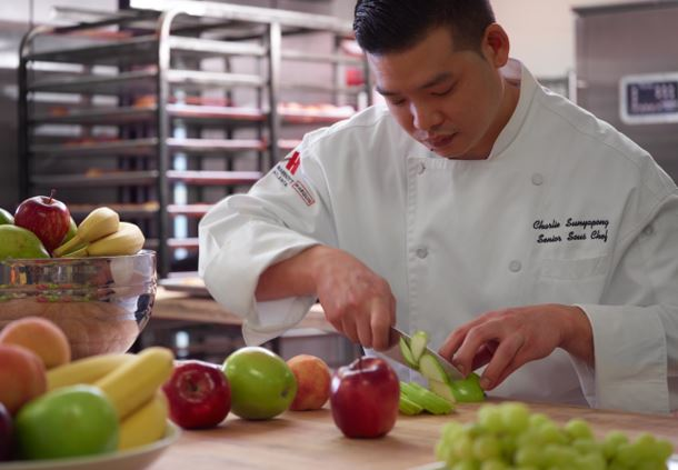 Senior Sous Chef Charlie Sunyapong