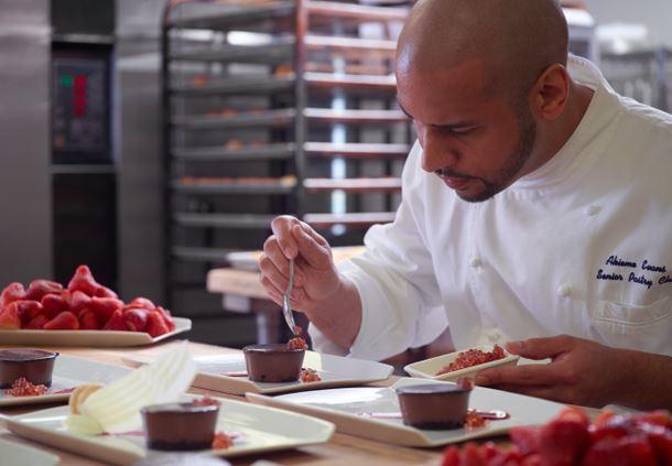Senior Pastry Chef Akieme Evans