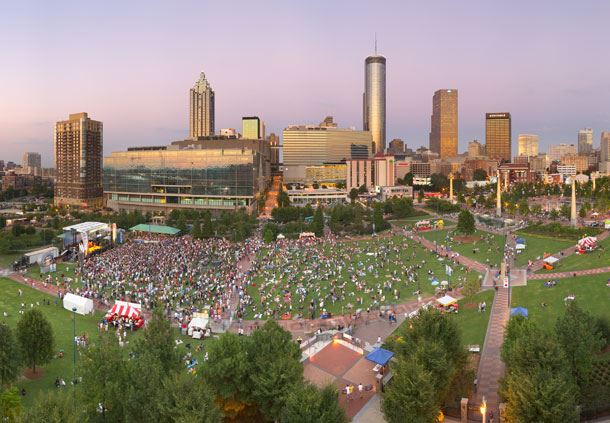 Events at Centennial Park