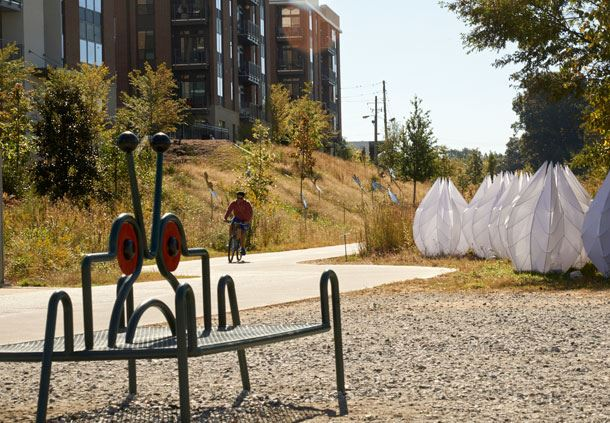 Parks along the Atlanta BeltLine