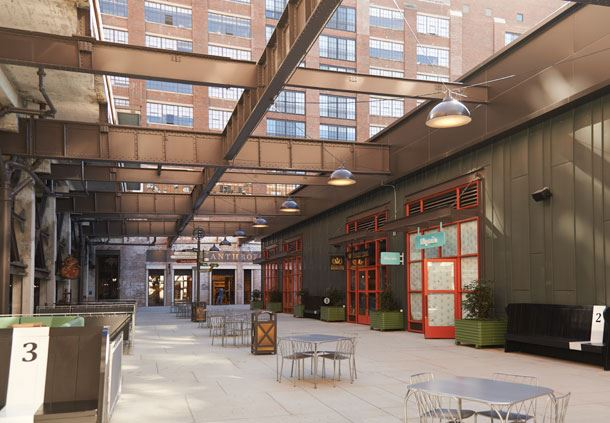 Ponce City Market Outdoor Patio
