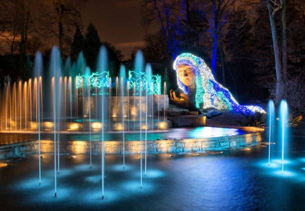 Atlanta Botanical Gardens - Lights Exhibit