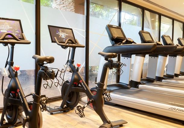 Fitness Center Equipment - Peloton Bikes