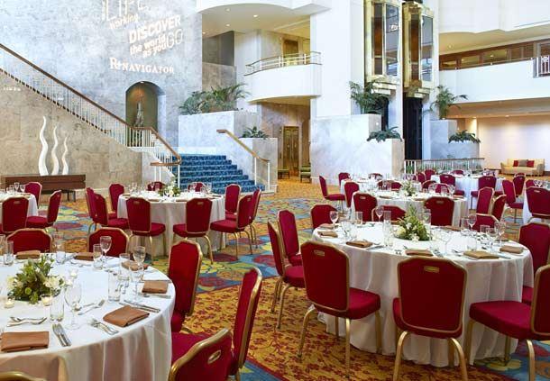 Atrium Level - Banquet Setup